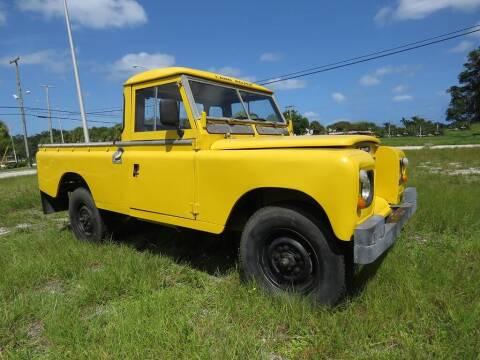 1980 Land Rover Defender for sale at Progressive Motors in Pompano Beach FL