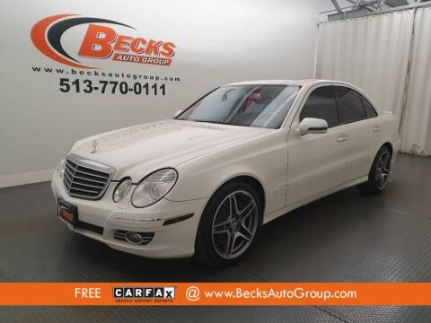 2008 Mercedes-Benz E-Class for sale at Becks Auto Group in Mason OH