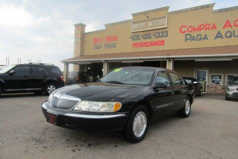 1998 Lincoln Continental for sale at Import Motors in Bethany OK