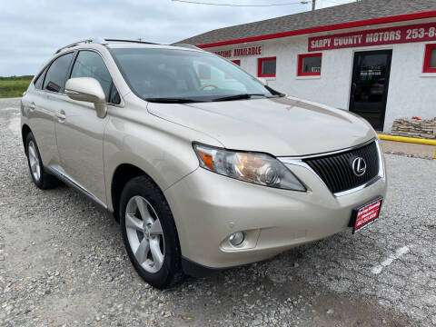 2012 Lexus RX 350 for sale at Sarpy County Motors in Springfield NE