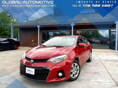 2015 Toyota Corolla for sale at Global Automotive Imports in Denver CO