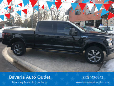 2015 Ford F-150 for sale at Bavaria Auto Outlet in Victoria MN