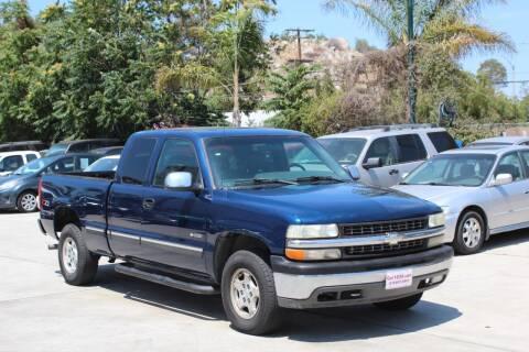 2001 Chevrolet Silverado 1500 for sale at Car 1234 inc in El Cajon CA