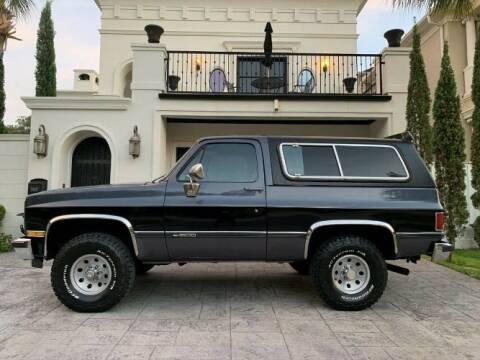 1989 Chevrolet Blazer for sale at Classic Car Deals in Cadillac MI