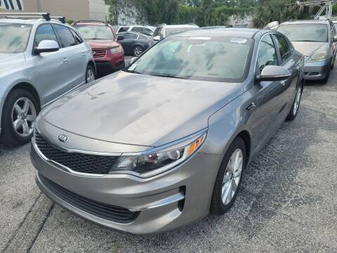 2017 Kia Optima for sale at Castle Used Cars in Jacksonville FL
