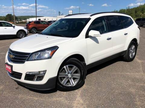 2015 Chevrolet Traverse for sale at STATELINE CHEVROLET BUICK GMC in Iron River MI