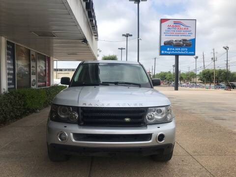 2009 Land Rover Range Rover Sport for sale at Magic Auto Sales - Cash Cars in Dallas TX