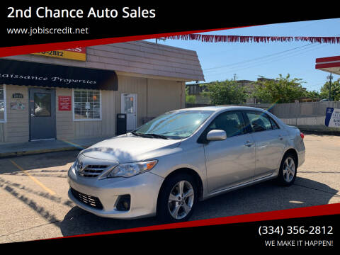2013 Toyota Corolla for sale at 2nd Chance Auto Sales in Montgomery AL