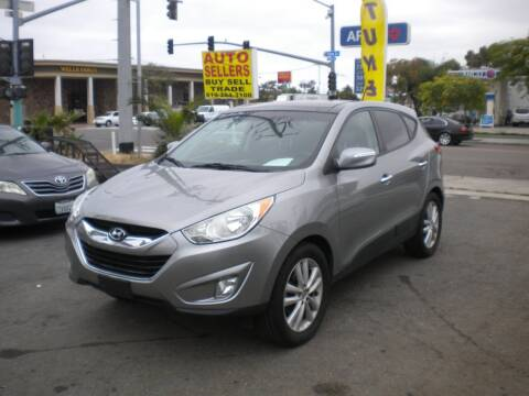 2013 Hyundai Tucson for sale at AUTO SELLERS INC in San Diego CA