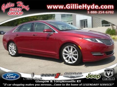 2016 Lincoln MKZ for sale at Gillie Hyde Auto Group in Glasgow KY