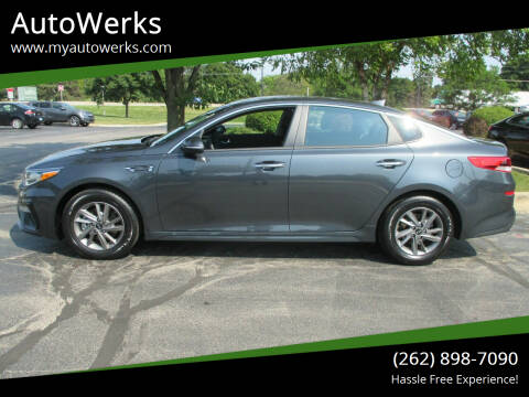 2020 Kia Optima for sale at AutoWerks in Sturtevant WI