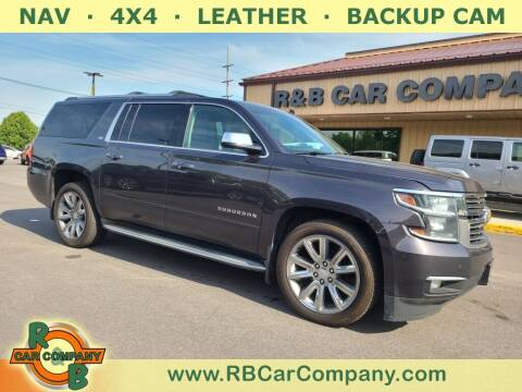 2015 Chevrolet Suburban for sale at R & B Car Company in South Bend IN