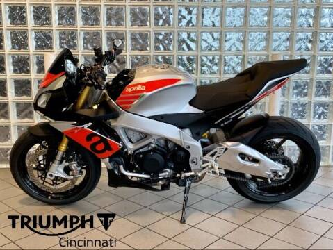 2018 Aprilla Tuono V4 1100 RR for sale at TRIUMPH CINCINNATI in Cincinnati OH