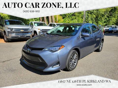 2017 Toyota Corolla for sale at Auto Car Zone, LLC in Kirkland WA
