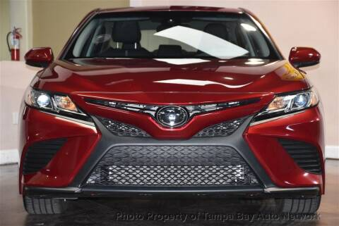 2018 Toyota Camry for sale at Tampa Bay AutoNetwork in Tampa FL