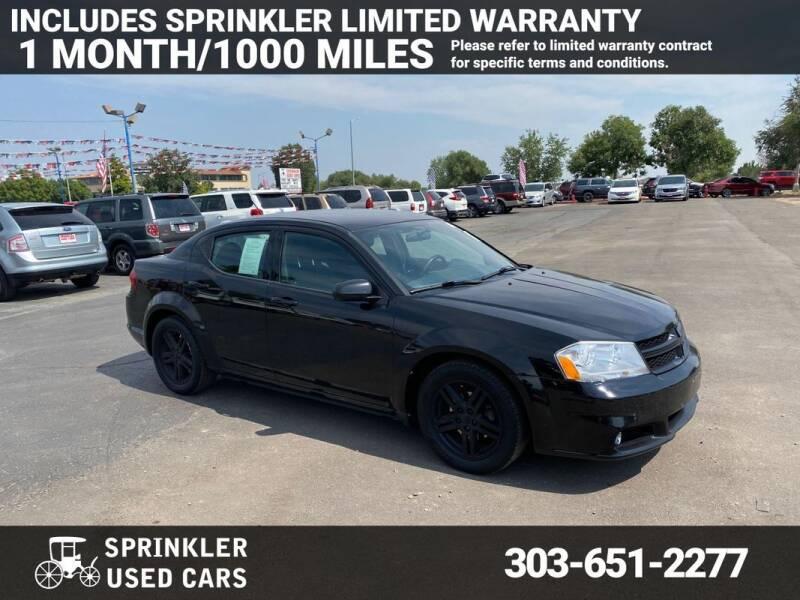 2013 Dodge Avenger for sale at Sprinkler Used Cars in Longmont CO