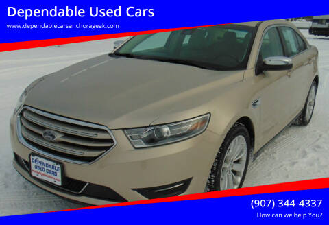 2017 Ford Taurus for sale at Dependable Used Cars in Anchorage AK