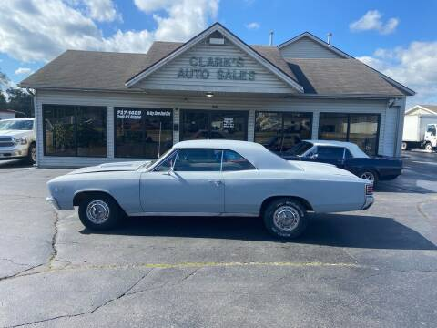 1967 Chevrolet Chevelle for sale at Clarks Auto Sales in Middletown OH