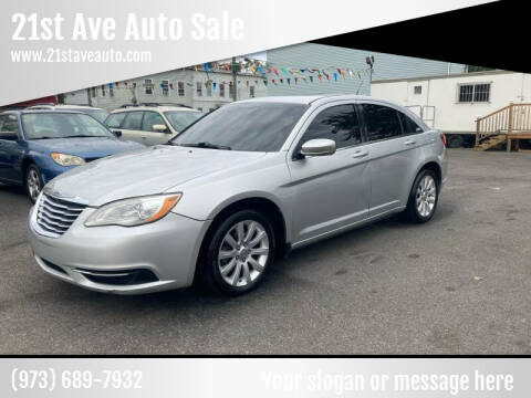 2011 Chrysler 200 for sale at 21st Ave Auto Sale in Paterson NJ