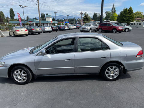 2002 Honda Accord for sale at Westside Motors in Mount Vernon WA