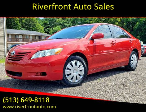 2007 Toyota Camry for sale at Riverfront Auto Sales in Middletown OH