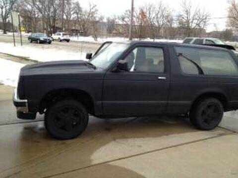 1987 Chevrolet Blazer for sale at Haggle Me Classics in Hobart IN
