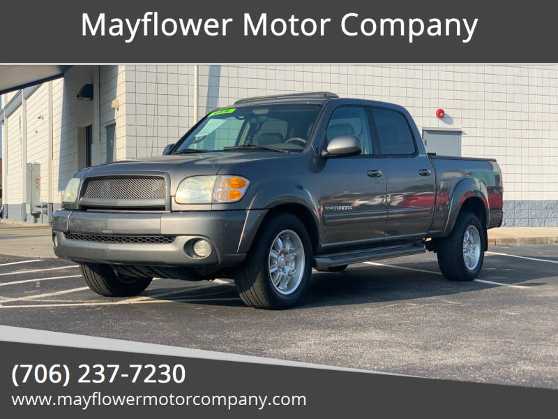 2004 Toyota Tundra for sale at Mayflower Motor Company in Rome GA