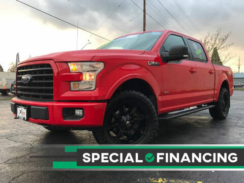 2016 Ford F-150 for sale at Salem Auto Market in Salem OR