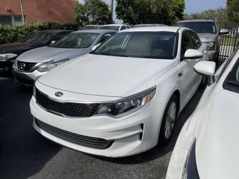 2016 Kia Optima for sale at Meru Motors in Hollywood FL