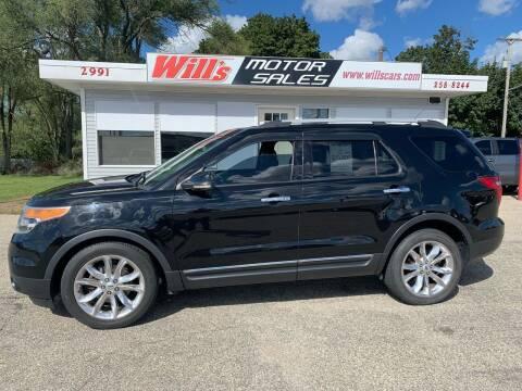 2012 Ford Explorer for sale at Will's Motor Sales in Grandville MI