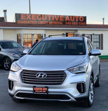 2017 Hyundai Santa Fe for sale at Executive Auto in Winchester VA