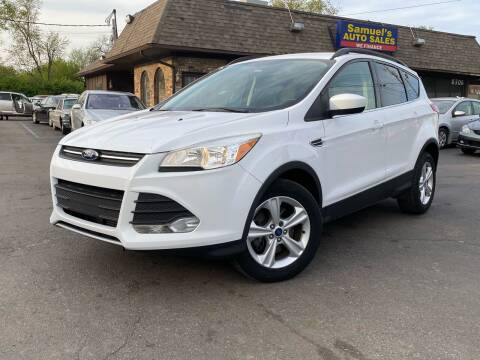 2013 Ford Escape for sale at Samuel's Auto Sales in Indianapolis IN