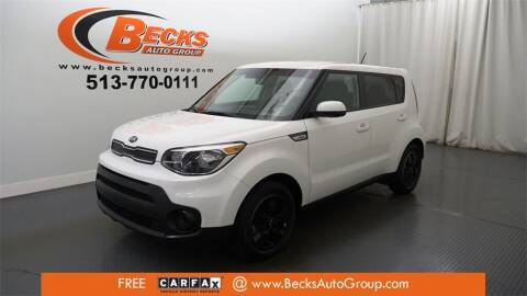 2018 Kia Soul for sale at Becks Auto Group in Mason OH