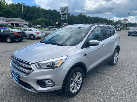 2017 Ford Escape for sale at Ripley & Fletcher Pre-Owned Sales & Service in Farmington ME