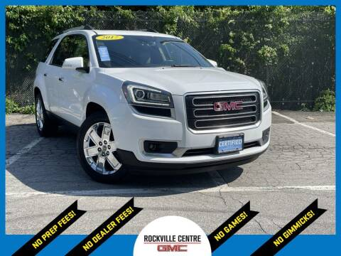 2017 GMC Acadia Limited for sale at Rockville Centre GMC in Rockville Centre NY
