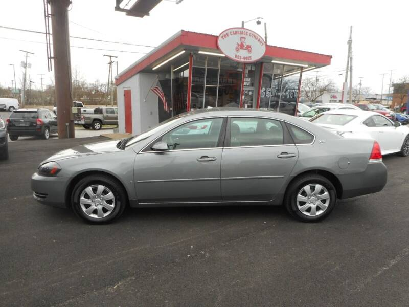 2007 Chevrolet Impala for sale at The Carriage Company in Lancaster OH