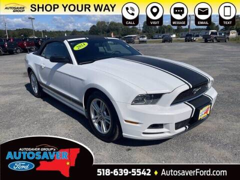 2014 Ford Mustang for sale at Autosaver Ford in Comstock NY