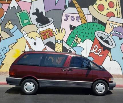 1994 Toyota Previa for sale at Classic Car Deals in Cadillac MI
