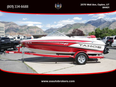 2013 Tracker  TAHOE Q4i for sale at S S Auto Brokers in Ogden UT