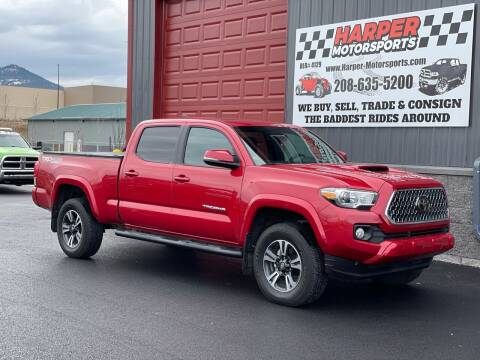 2019 Toyota Tacoma for sale at Harper Motorsports-Vehicles in Post Falls ID