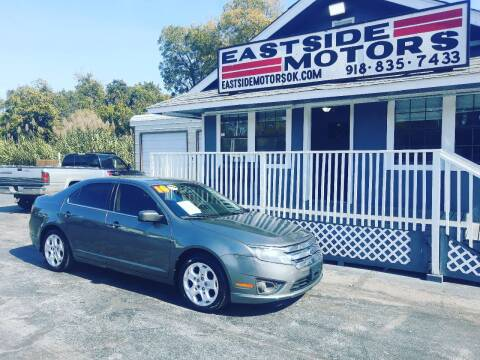 2010 Ford Fusion for sale at EASTSIDE MOTORS in Tulsa OK