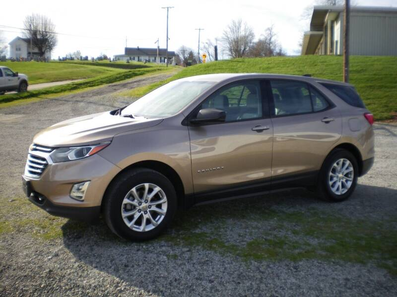 2018 Chevrolet Equinox for sale at Starrs Used Cars Inc in Barnesville OH