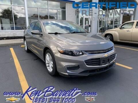 2018 Chevrolet Malibu for sale at KEN BARRETT CHEVROLET CADILLAC in Batavia NY