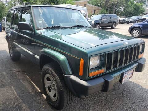 1999 Jeep Cherokee for sale at New Wheels in Glendale Heights IL