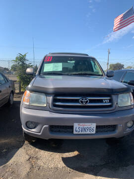 2001 Toyota Sequoia for sale at Premier Auto Sales in Modesto CA