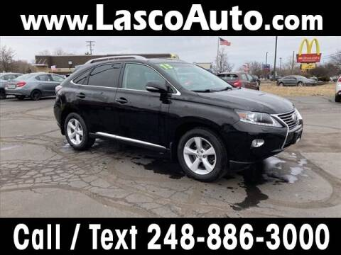 2013 Lexus RX 350 for sale at Lasco of Waterford in Waterford MI