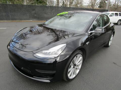 2018 Tesla Model 3 for sale at LULAY'S CAR CONNECTION in Salem OR