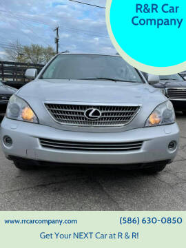 2008 Lexus RX 400h for sale at R&R Car Company in Mount Clemens MI