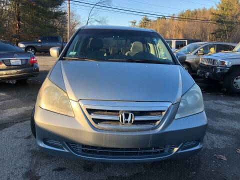 2006 Honda Odyssey for sale at Royal Crest Motors in Haverhill MA