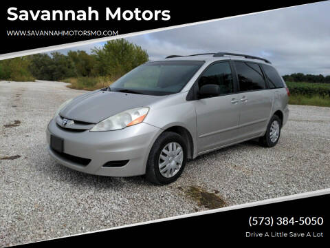 2010 Toyota Sienna for sale at Savannah Motors in Elsberry MO